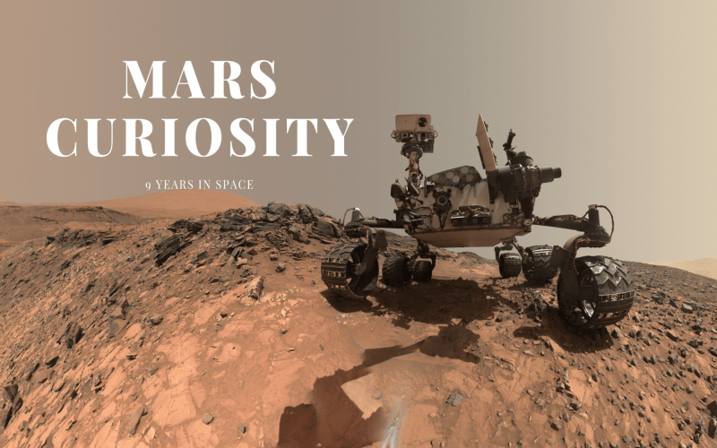Mars Curiosity Rover 9 Years In Space