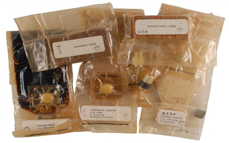 Guide: Identifying Gemini & Apollo Space Food