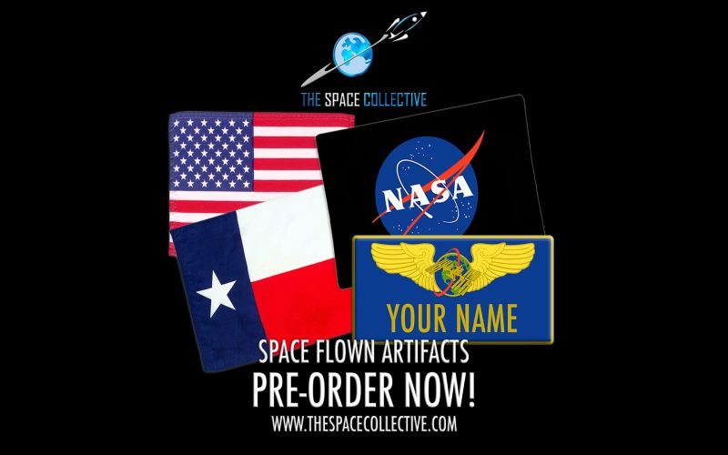 Send Your Name To Space & Back in February 2021