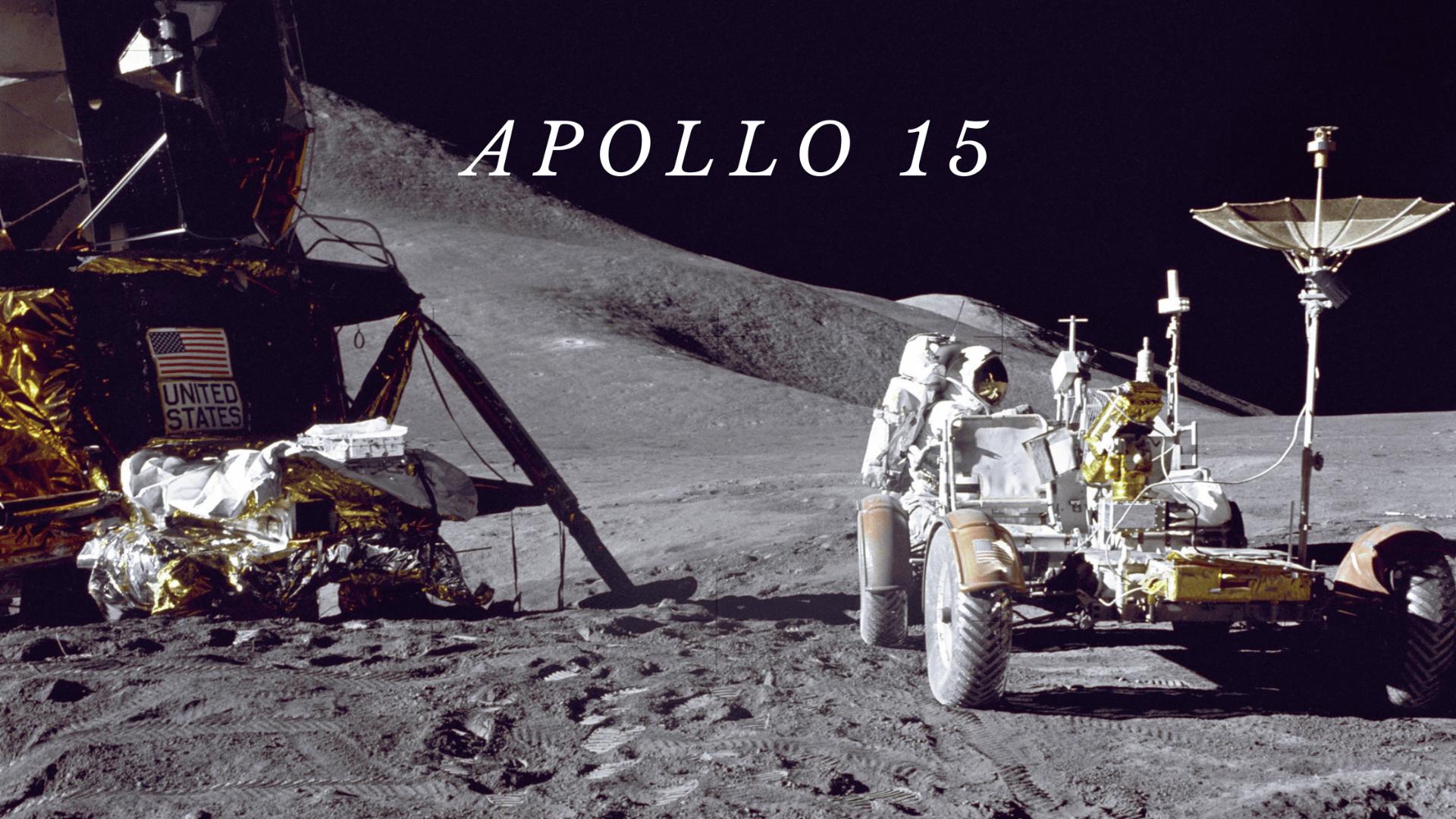Apollo 15 header