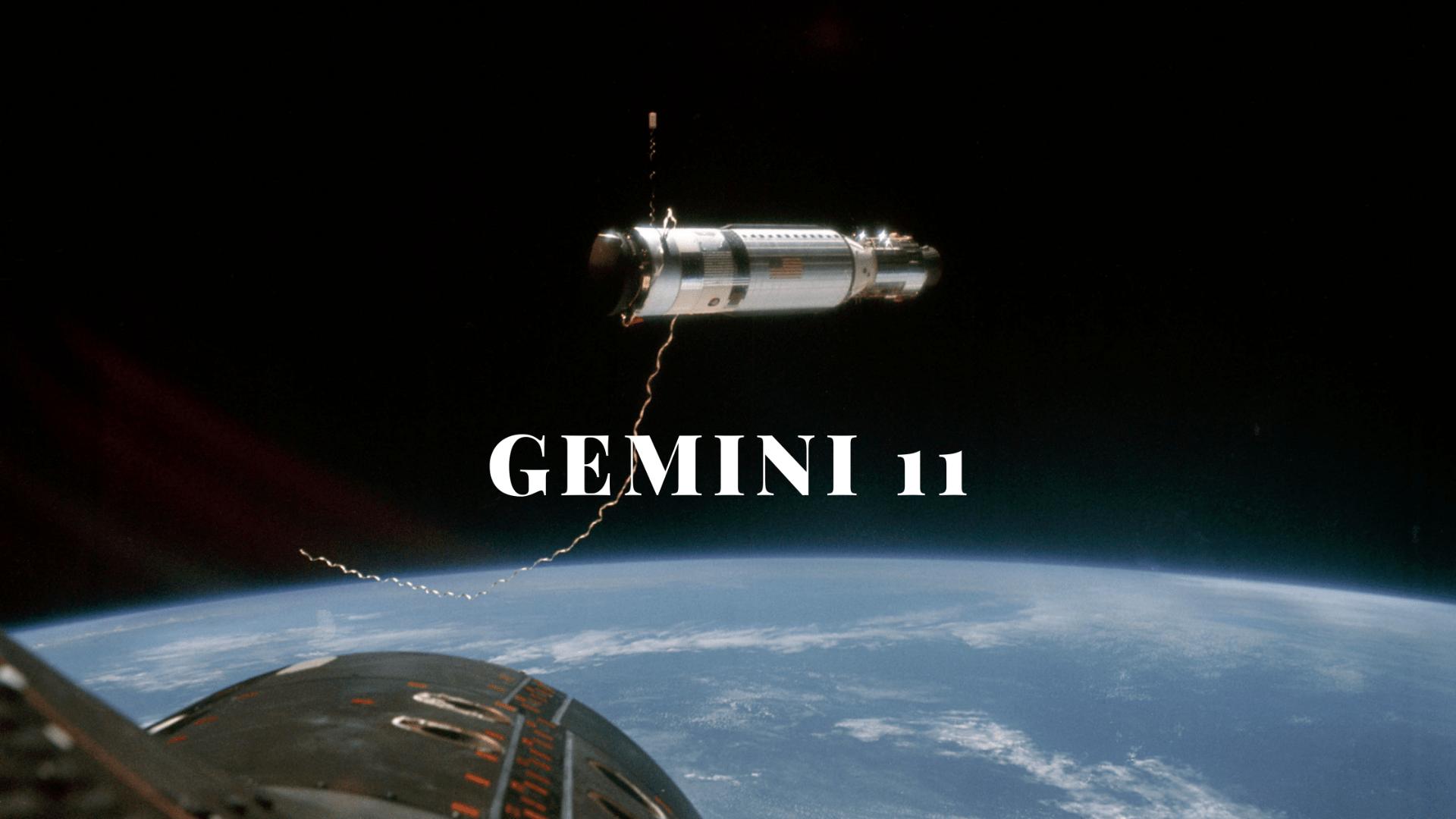 Gemini 11 header