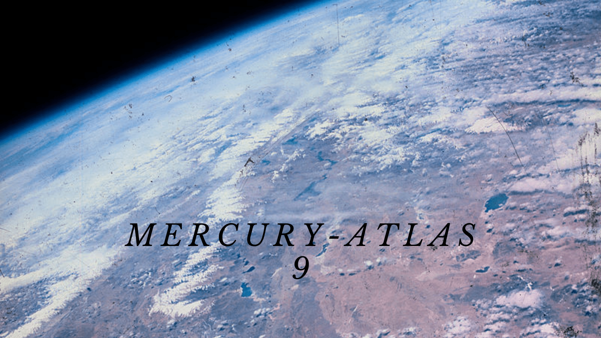 Mercury Atlas 9 header