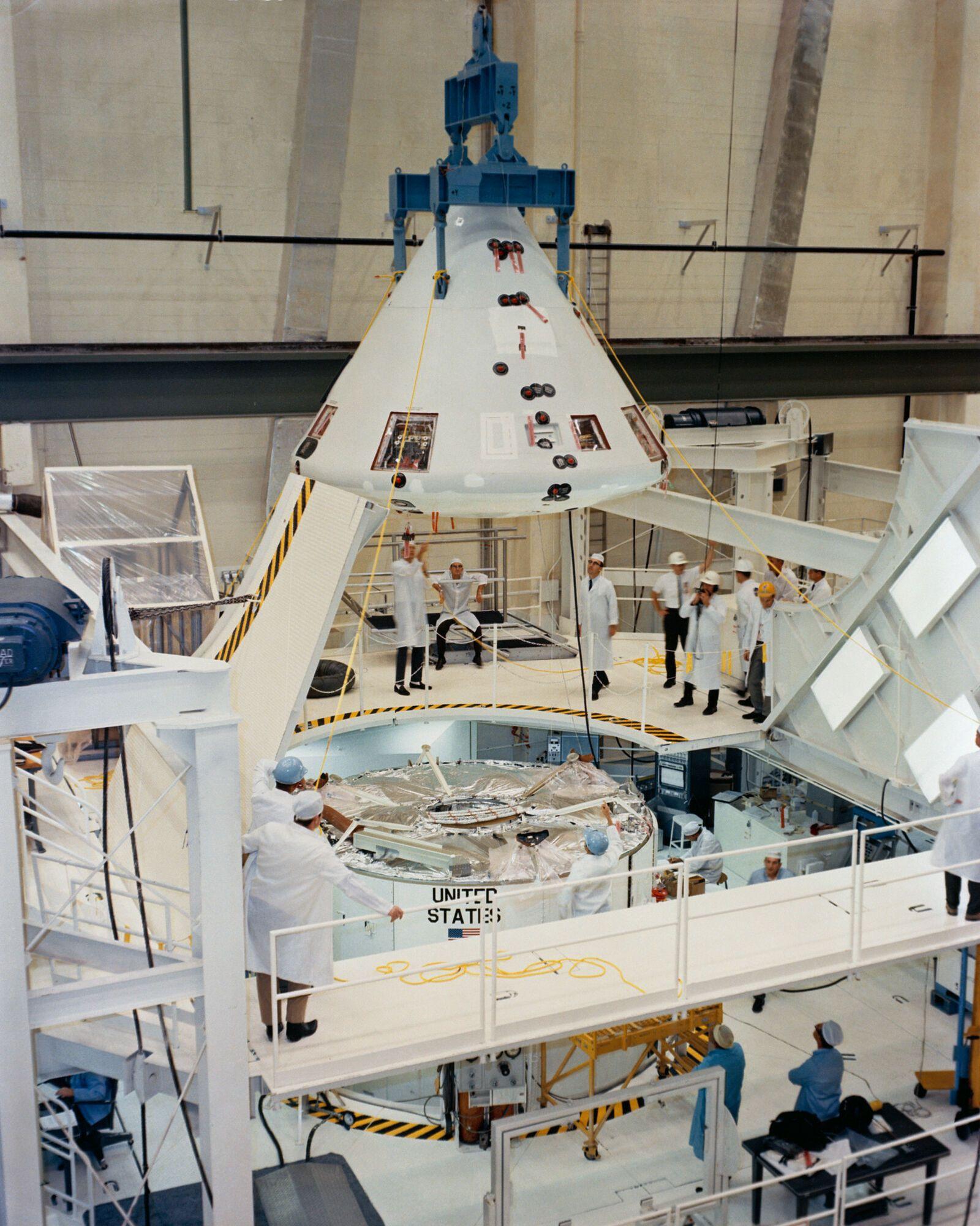 Construction of Apollo 6