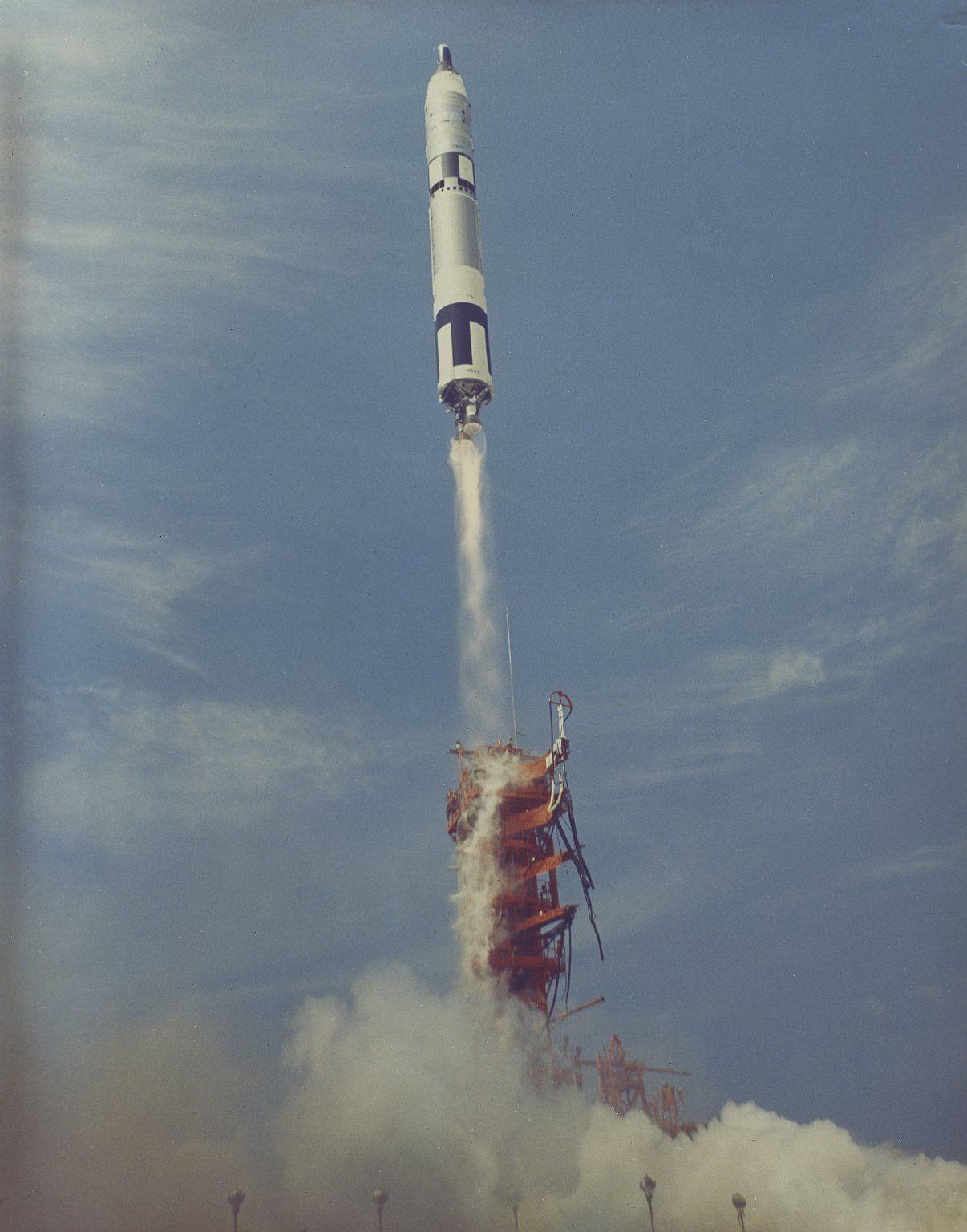 Gemini 8 launch