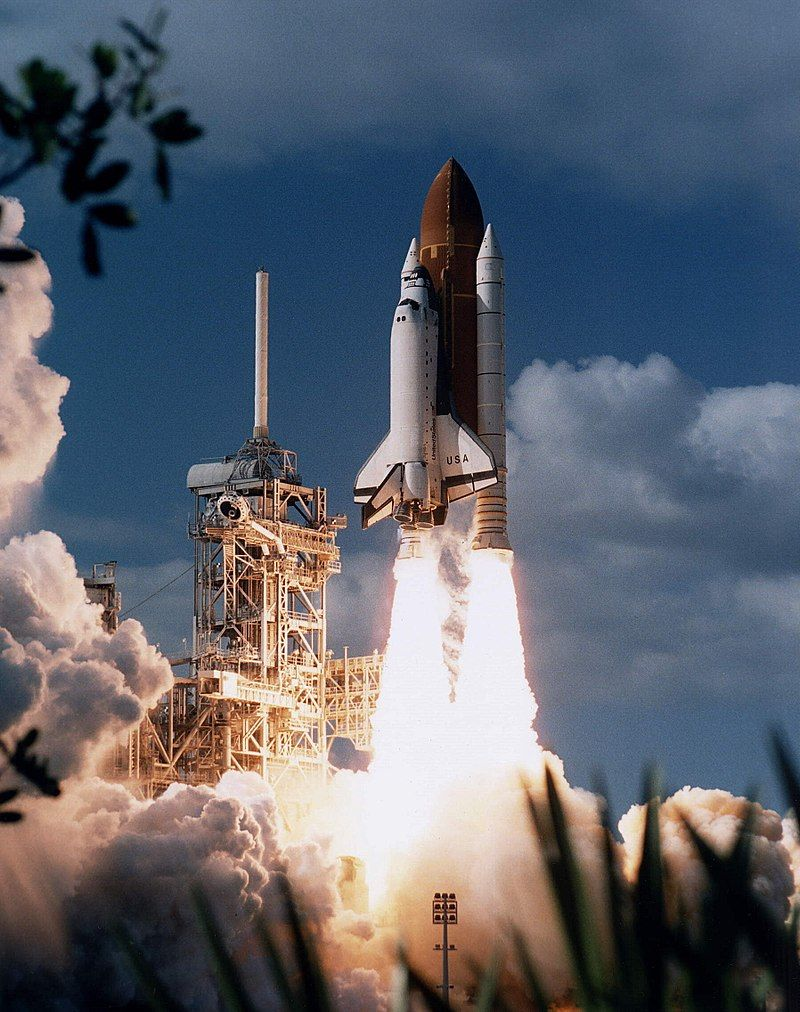 STS-80 Space Shuttle Columbia launch